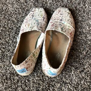 Music Note Toms